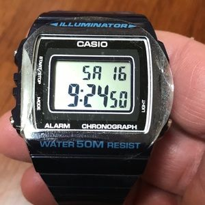 Casio Illuminator NWOT Blue Watch